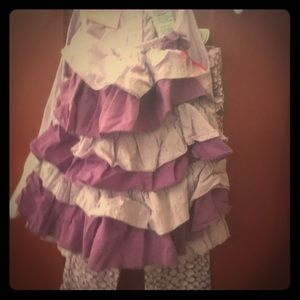 Outfit size 4T purple and lavender